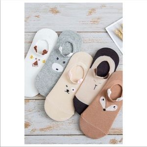 Accessories - 5 pairs of animal socks
